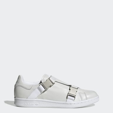 Women Originals White Stan Smith Buckle Shoes