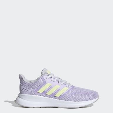 Women Running Purple Runfalcon Shoes