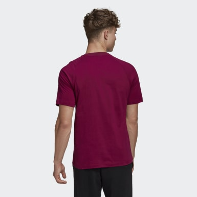 Mænd Athletics Burgundy Must Haves Stadium T-shirt