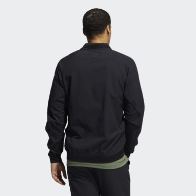 Men's Golf Black Adicross Bomber Jacket