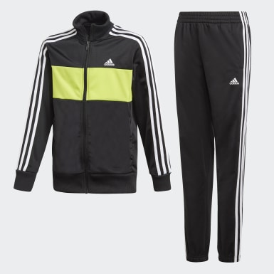 Boys Training Black Tiberio Track Suit