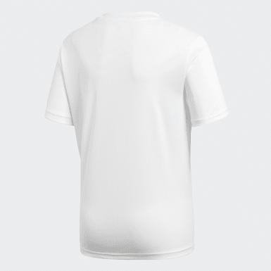 Camiseta entrenamiento Core 18 Blanco Niño Training