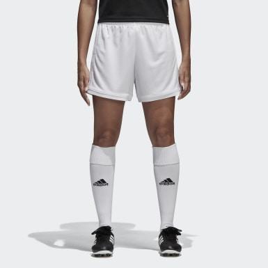 Shorts Squadra 17 Blanco Mujer Fútbol