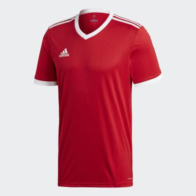 ผู้ชาย ฟุตบอล สีแดง เสื้อฟุตบอล Tabela 18