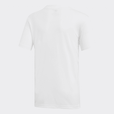 Camiseta Club 3 bandas Blanco Niño Tenis Y Pádel