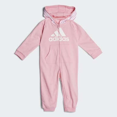 Infant & Toddler Training Pink Coveralls