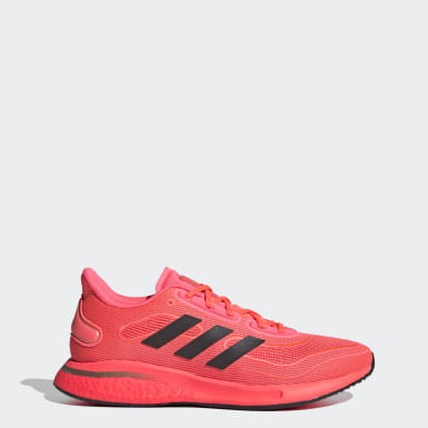 Women Running Pink Supernova Shoes