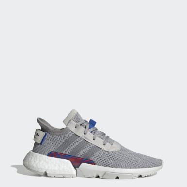 Adidas Originals LA Sneakers Heren Solid GrijsMet