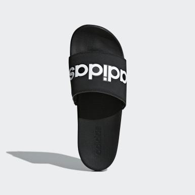 ผู้ชาย ว่ายน้ำ สีดำ รองเท้าแตะ Adilette Comfort