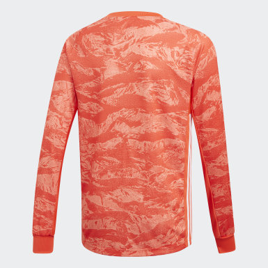 оранжевый Вратарский лонгслив AdiPro 19