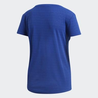 Camiseta FreeLift Chill Azul Mulher Training