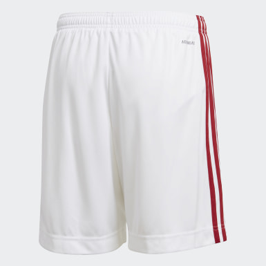 Barn Fotboll Vit Arsenal Home Shorts