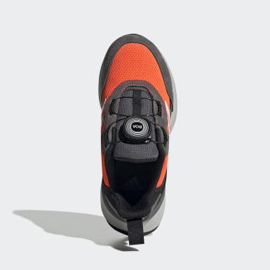 Chaussure RapidaRun Boa Orange Enfants Running