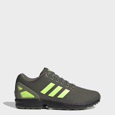 Women Originals Green ZX Flux Shoes