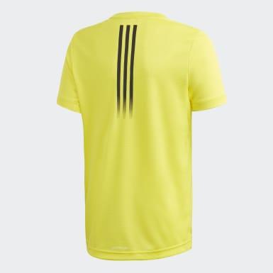 Camiseta AEROREADY Amarillo Niño Yoga