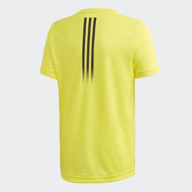 T-shirt AEROREADY Jaune Garçons Yoga