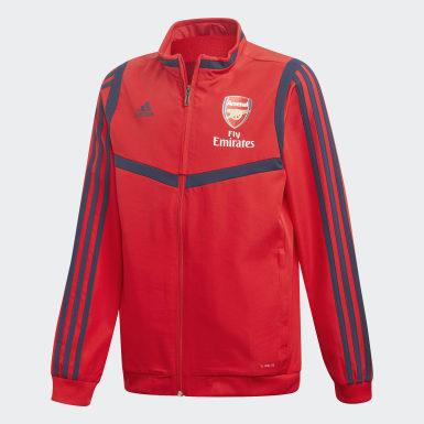 Veste de présentation Arsenal Rouge Enfants Football