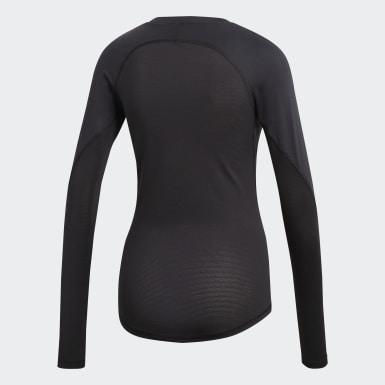 Camiseta Alphaskin Sport Negro Mujer Golf