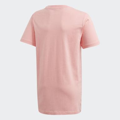 Camiseta Larga Rosa Niño Originals