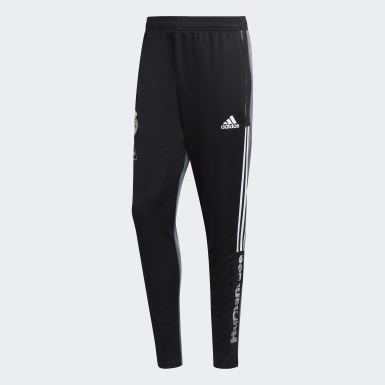 Pantalon d''entraînement Real Madrid Human Race noir Hommes Soccer