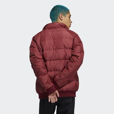 Men Originals Burgundy Jonah Hill Puff Jacket