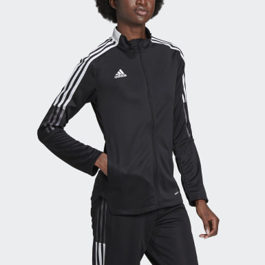 Women's Soccer Black Tiro 21 Track Jacket