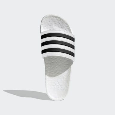 Originals White Adilette Boost Slides