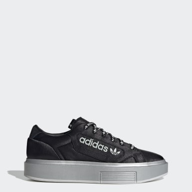 Women Originals Black adidas Sleek Super Shoes