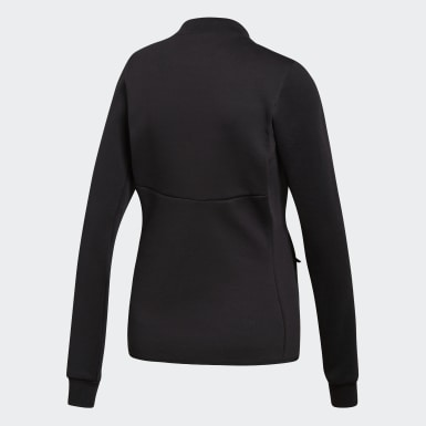 Women Urban Outdoor Black Varilite Hybrid Jacket
