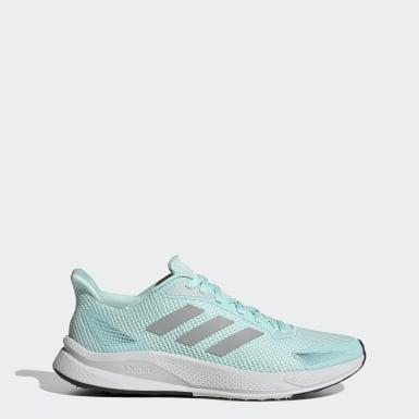 Women Running Green X9000L1 Shoes