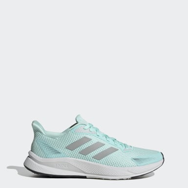 Women Running Green X9000L1 Shoes
