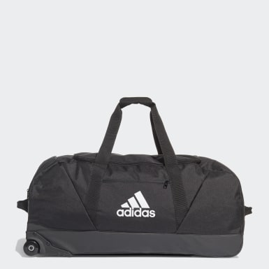 Football Black Tiro Trolley Duffel Bag Extra Large