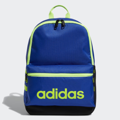 Children Essentials Blue Classic 3-Stripes Backpack