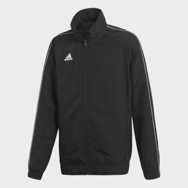 Kids Training Black Core 18 Presentation Jacket