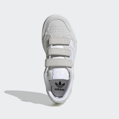 Kids 4-8 Years Originals White Continental Vulc Shoes