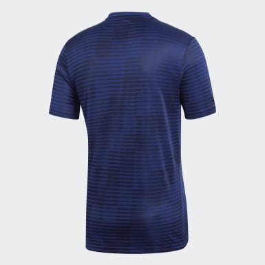Heren Voetbal Blauw Condivo 18 Voetbalshirt