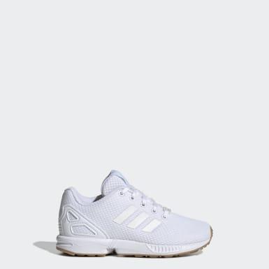 Chaussure ZX Flux blanc Enfants Originals