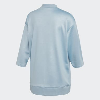 Frauen Originals EQT Sweatshirt Blau