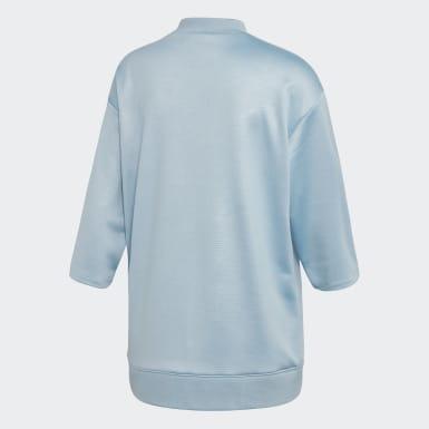 Sweat-shirt EQT Bleu Femmes Originals