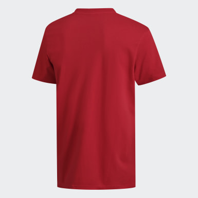Camiseta 8-Bit Lineage Vermelho Homem Sport Inspired