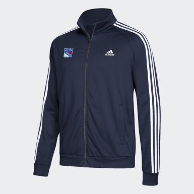 Men's Athletics Multicolor Rangers Logo Track Jacket