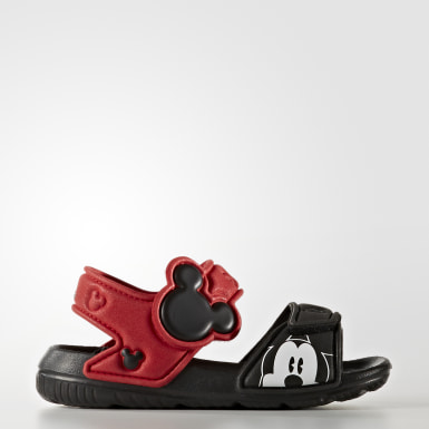 Infants Swimming Black Disney Mickey AltaSwim Sandals