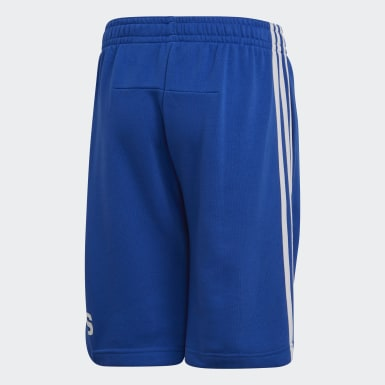 Boys Training Blue Must Haves Badge of Sport Shorts