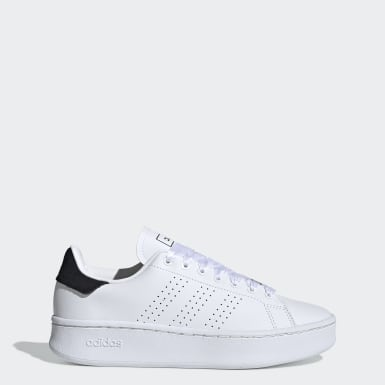 Women Sport Inspired White Advantage Bold Shoes
