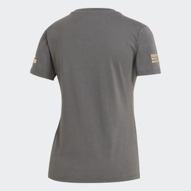 Camiseta Berlin Marathon Event Gris Mujer Running