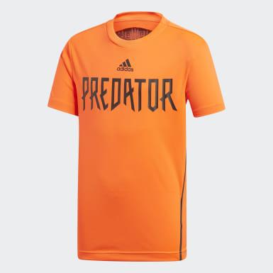 Jersey Predator Naranja Niño Training