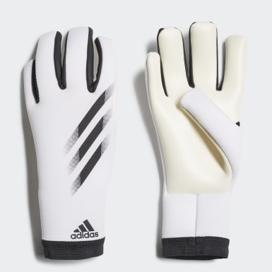 Football White X 20 Training Goalkeeper Gloves