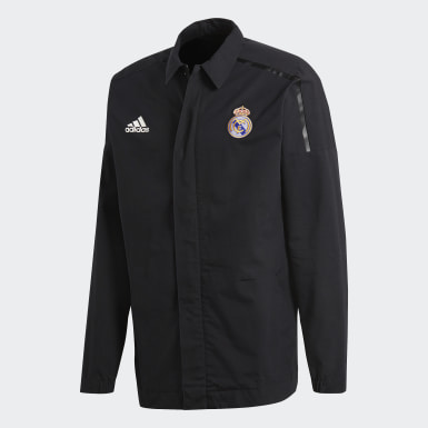 Chamarra Real Madrid adidas Z.N.E. Negro Hombre Fútbol