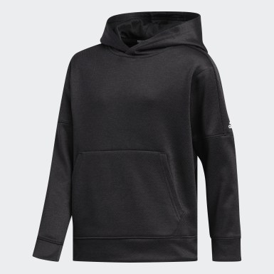 Children Training Black Team Issue Pullover Hoodie
