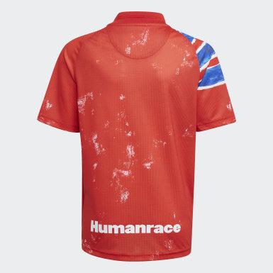 Maglia Human Race FC Bayern München Rosso Bambini Calcio